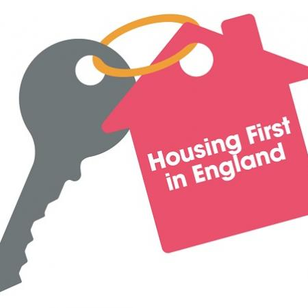 Housing First England keyring